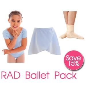 RAD Childrens Ballet Pack With Ballet Socks