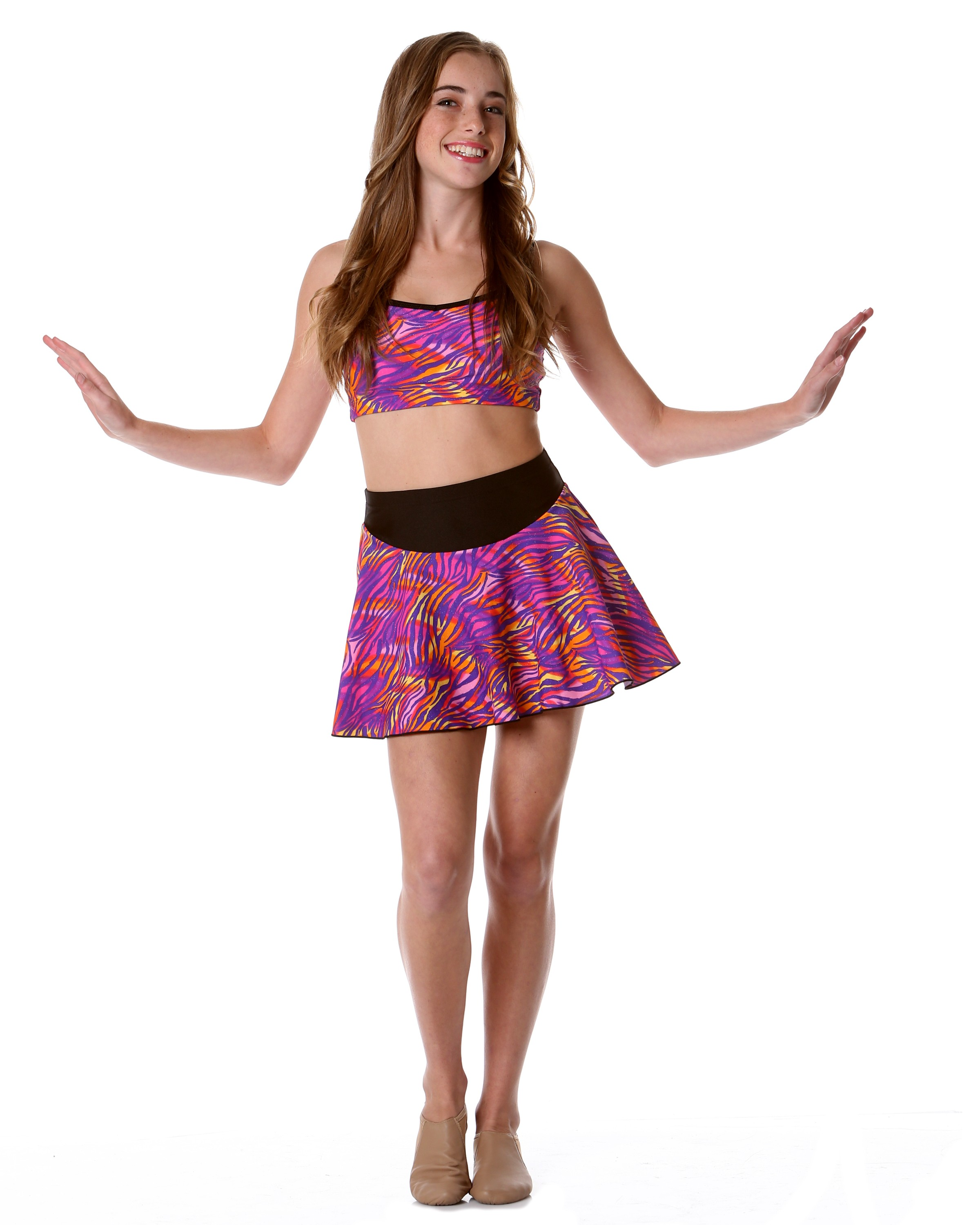 Studio 7 Safari Hot Skirt - Childs