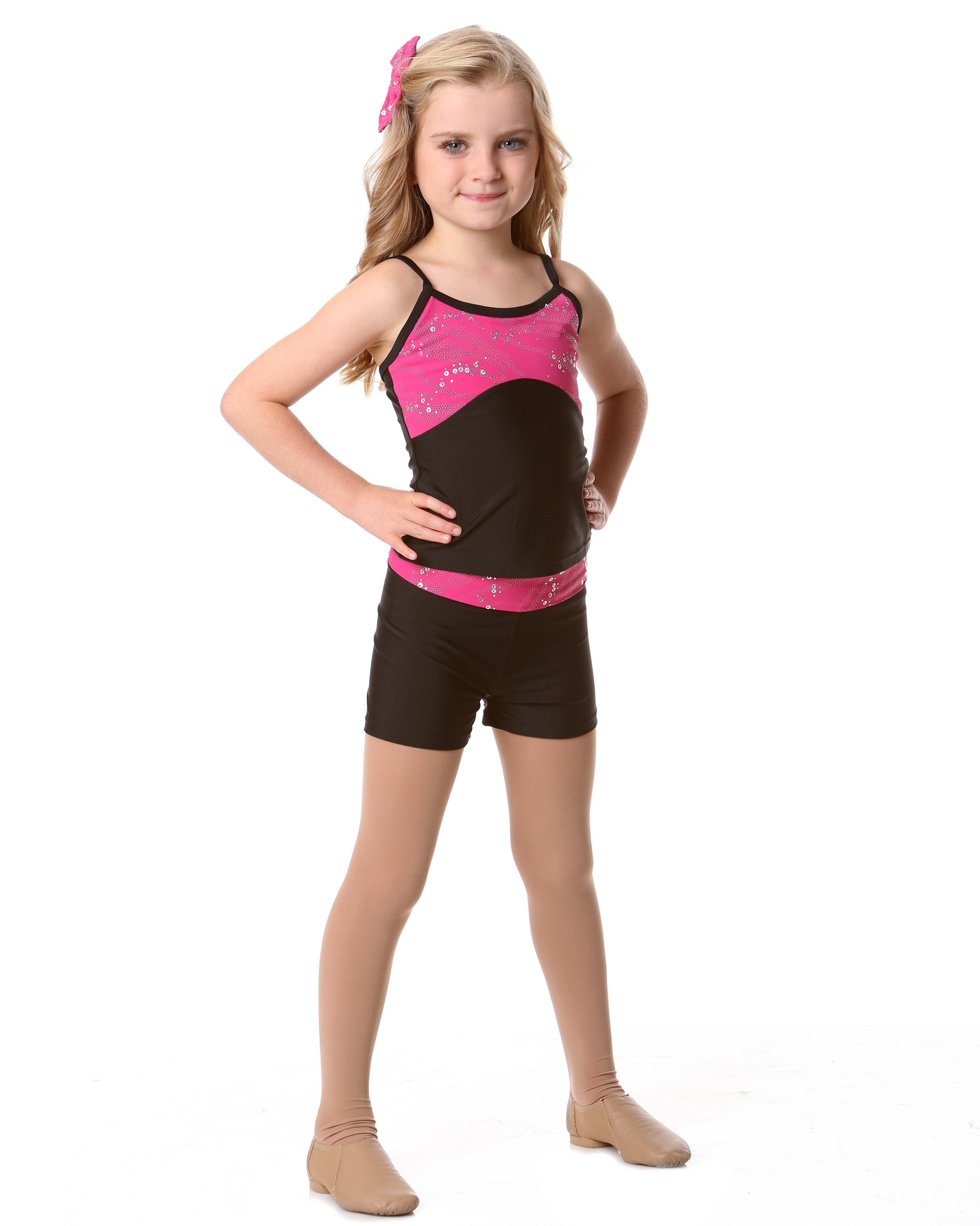 Studio 7 Glitter Camisole Singlet Top - Childs